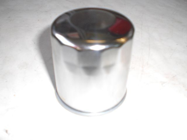 Oil filter, F6c / Interstate chrome