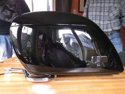 OEM Tourer case, used, repainting black