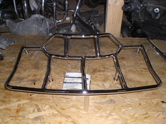 Luggage rack for Interstate Topcase, new