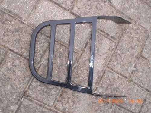 Luggage Rack, black powdercoated